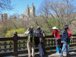On the Oak Bridge, Central Park - photo by Carena Pooth