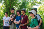 Young birders at Doodletown, photo by Dan Cantor